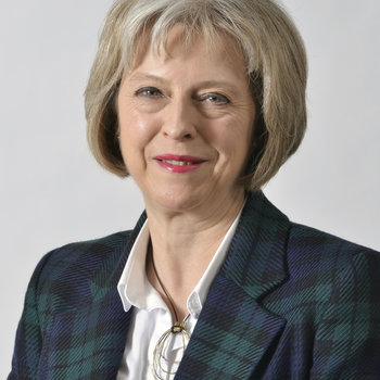 Photograph of Theresa May