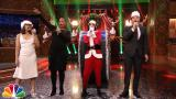 Jimmy Fallon & Rashida Jones Sing Holiday Parodies of Taylor Swift, Rihanna, Drake